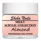 Nude Color Acrylic Powder - Milkies - Almond thumbnail