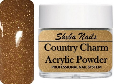Country Charm Color Acrylic Powder - Rustic Gold