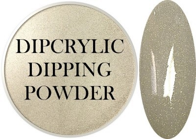 Dipcrylic Acrylic Dipping Powder - Heavy Metal Collection - Platinum