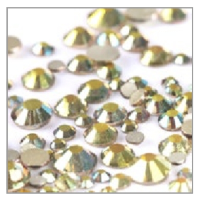 Mix Acrylic Rhinestone 06 - Metal Sunlight