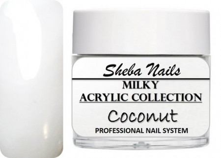 Nude Color Acrylic Powder - Milkies - Coconut