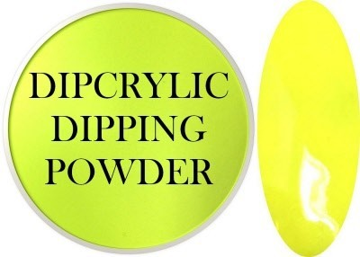 Dipcrylic Acrylic Dipping Powder - Art Collection - Banana