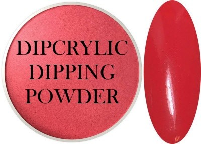 Dipcrylic Acrylic Dipping Powder - Precious Collection - Crimson