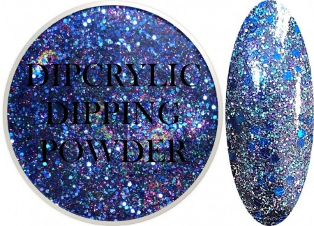 Dipcrylic Acrylic Dipping Powder - Glitter Collection - Masquerade