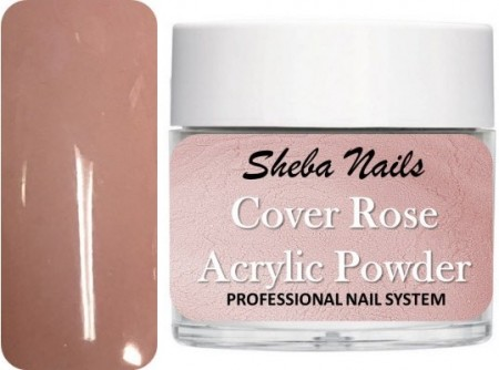 Sheba Nails - Cover Acrylic Powder Collection - Cover Rose - 15 ml