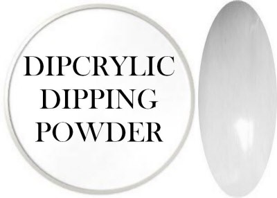 Dipcrylic Acrylic Dipping Powder - Basix Collection - White - 15 ml