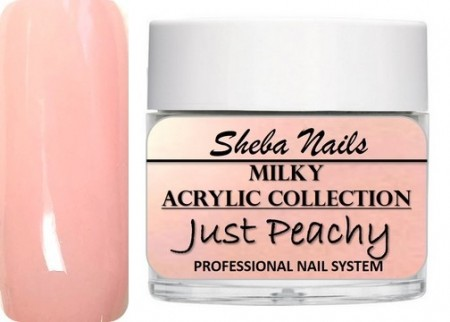 Nude Color Acrylic Powder - Milkies - Just Peachy