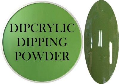 Dipcrylic Acrylic Dipping Powder - Art Collection - Army Green