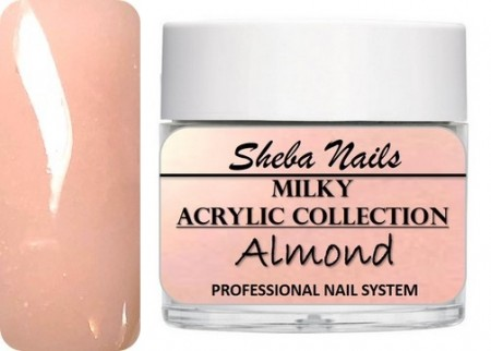 Nude Color Acrylic Powder - Milkies - Almond