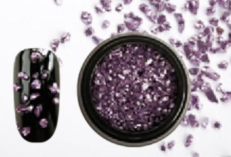 Mineral Crushed Stone 08 - Purple