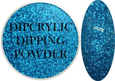Dipcrylic Acrylic Dipping Powder - Glitter Collection - Sparkling Blue