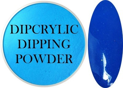 Dipcrylic Acrylic Dipping Powder - Neon Collection - Neon Blue