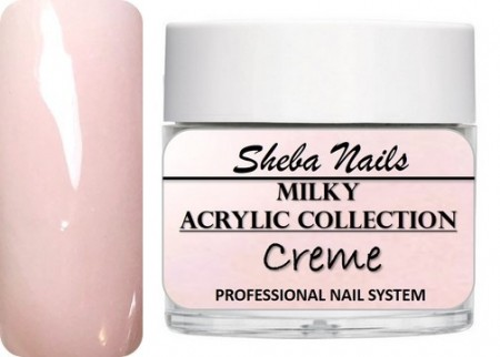 Nude Color Acrylic Powder - Milkies - Creme