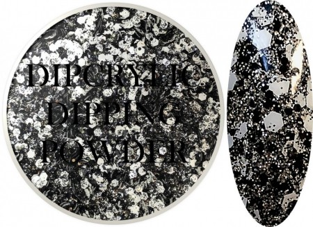 Dipcrylic Acrylic Dipping Powder - Glitter Collection - Sparkling Ball Drop