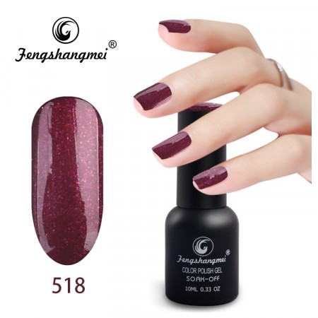 Fengshangmei Color Polish Gel #518