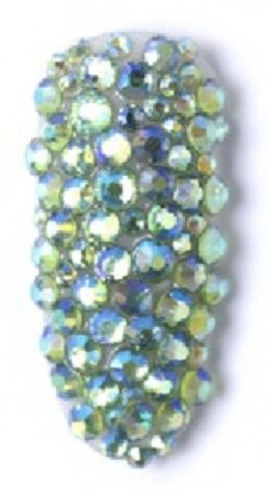 Six Mix Acrylic Rhinestone #09