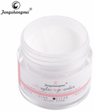 Fengshangmei Acrylic Powder - Clear - 15 ml