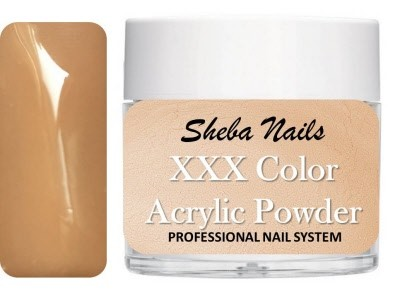 Nude Color Acrylic Powder - Streak