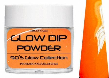 Dipcrylic Acrylic Dipping Powder - 90´s Flashback Glow Collection - Scrunchie