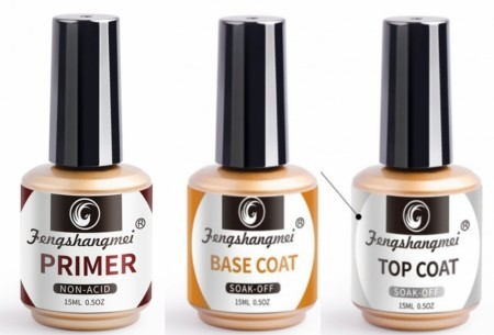 Fengshangmei Non Acid Primer, Base Coat & Top Coat