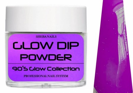 Dipcrylic Acrylic Dipping Powder - 90´s Flashback Glow Collection - Boo-Ya