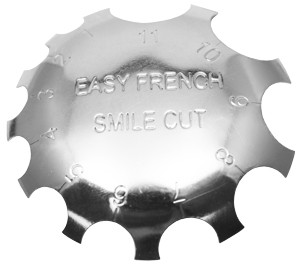 Acrylic Smile Line Cutter - 02 - Easy French Smile Cut