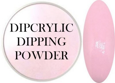 Dipcrylic Acrylic Dipping Powder - Baby Pastel Collection - Baby Pink