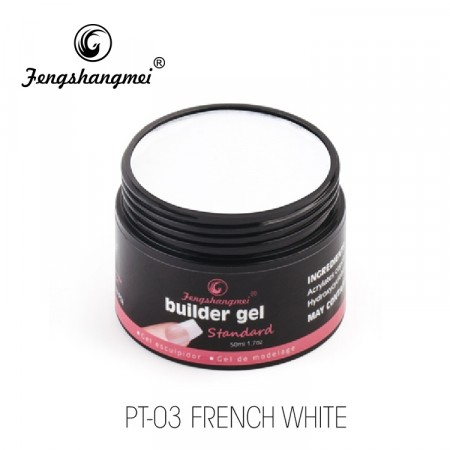 Fengshangmei Builder Gel PT-03 French White
