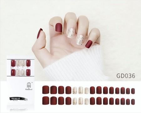 Press On Nails GD-036