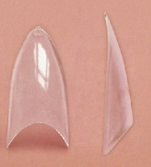 Stiletto Clear Tip - Pose med 500