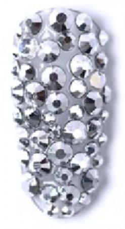 Six Mix Acrylic Rhinestone #01