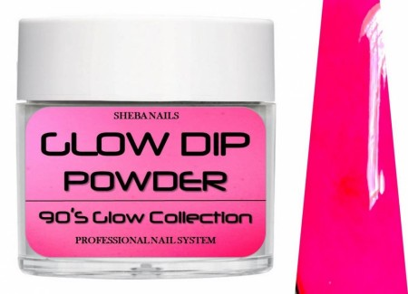 Dipcrylic Acrylic Dipping Powder - 90´s Flashback Glow Collection - Leggings
