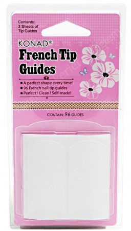 Konad French Tip Guide - Fingers