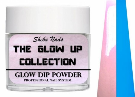 Dipcrylic Acrylic Dipping Powder - The Glow Up Collection - #selfie