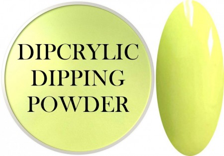 Dipcrylic Acrylic Dipping Powder - Unicorn Poop Collection - Pastel Neon Buttercup