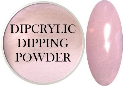 Dipcrylic Acrylic Dipping Powder - Glow in the Dark Collection - Luna Pink