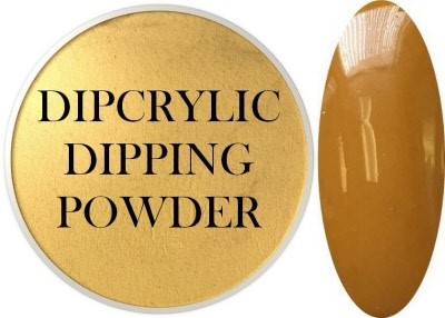Dipcrylic Acrylic Dipping Powder - Retro Collection - Mustard