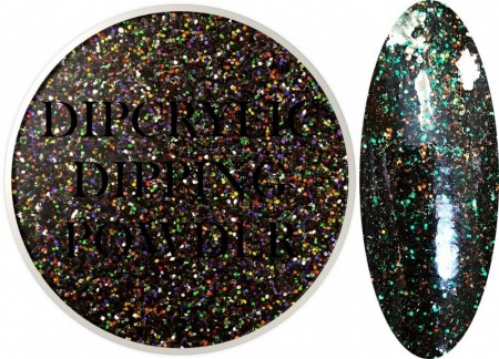 Dipcrylic Acrylic Dipping Powder - Winter Glitter Collection - Garland