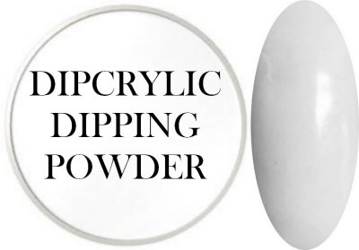 Dipcrylic Acrylic Dipping Powder - Glow in the Dark Collection - Luna White