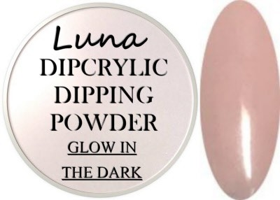 Dipcrylic Acrylic Dipping Powder - Glow in the Dark Collection - Luna Supernova