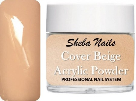 Sheba Nails - Cover Acrylic Powder Collection - Cover Beige - 15 ml