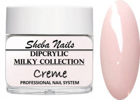Dipcrylic Acrylic Dipping Powder - Milkies Collection - Creme