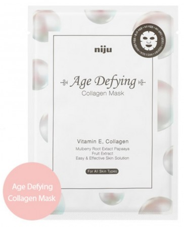 [NIJU] Age Defying Collagen Mask - Korean Sheet Mask