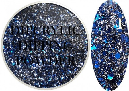 Dipcrylic Acrylic Dipping Powder - Glitter Collection - Infinity