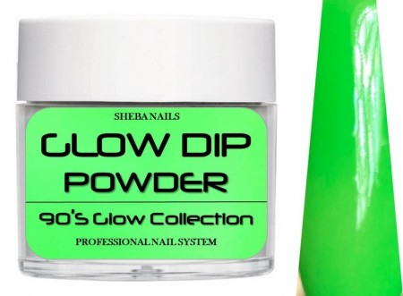 Dipcrylic Acrylic Dipping Powder - 90´s Flashback Glow Collection - Grunge