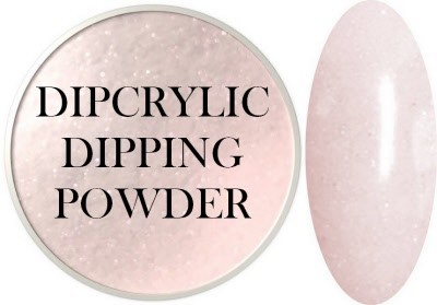 Dipcrylic Acrylic Dipping Powder - Glow in the Dark Collection - Luna Glistening Pink
