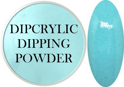 Dipcrylic Acrylic Dipping Powder - Baby Pastel Collection - Baby Turquiose