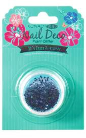 Konad Professional Nail Deco - Point Glitter - Blue Black