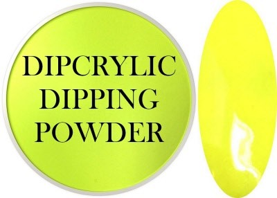 Dipcrylic Acrylic Dipping Powder - Neon Collection - Neon Yellow