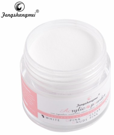 Fengshangmei Acrylic Powder - White - 15 ml